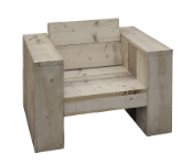 Steigerhout meubel beitsen